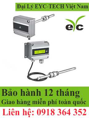 eYc THM86/87 Industrial Grade Multifunction Dew Point Transmitter  EYC TECH Việt Nam STC Việt Nam