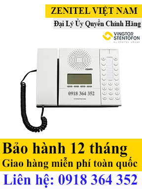 Thiết bị IP Desk/Wall Master Station, Display and Handset - Model Code: 1008001000 ZENITEL VIỆT NAM